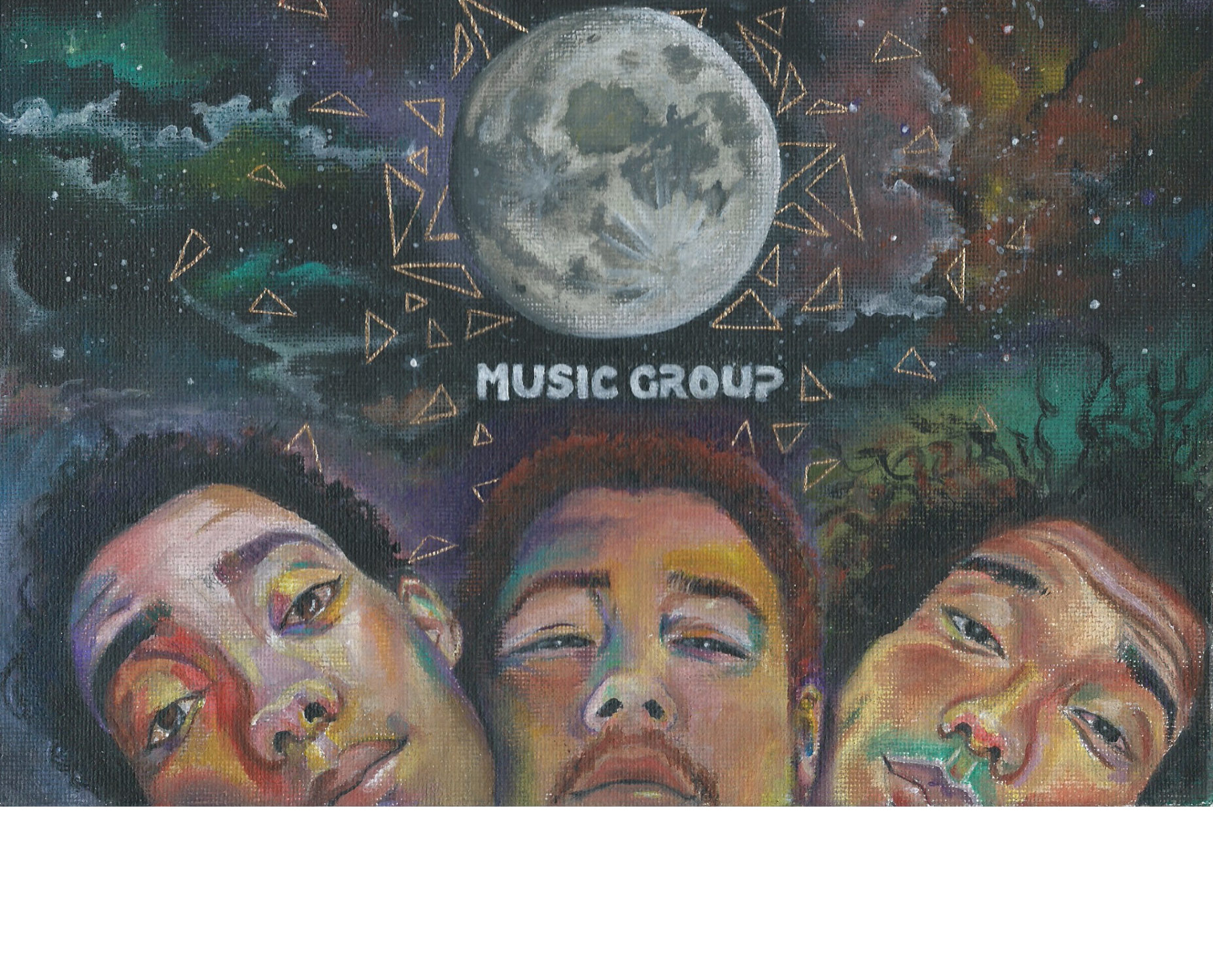 FYI Music Group Illustration by Angela Cross
