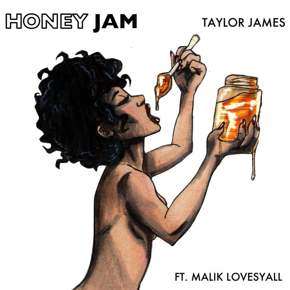 Honey Jam Illustration